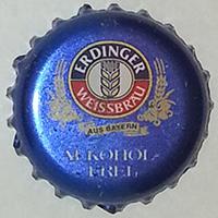 Erdinger alkoholfrei (Erdinger Weissbrau Werner Brombach, Privatbrauerei)