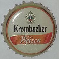 Krombacher weizen (Krombacher Brauerei Bernhard Schadeberg GmbH & Co.)