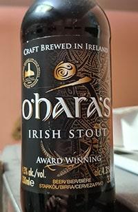 O'Hara's Irish Stout by O'Hara's Brewery