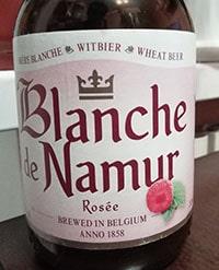 Rosee Blanche de Namur by Brasserie du Bocq