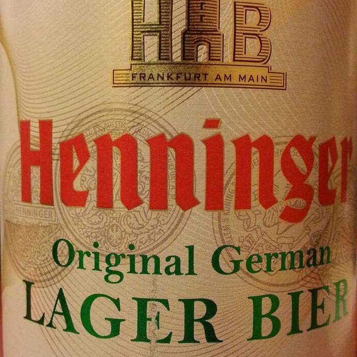 Henninger Premium Lager by Radeberger Gruppe