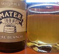 Mater Biere Blanche by Brouwerij Roman