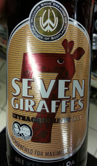 Seven Giraffes by Williams Brothers Brewing Co.