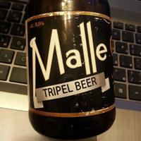 Malle tripel beer
