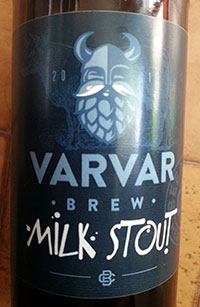 Milk Stout by Varvar
