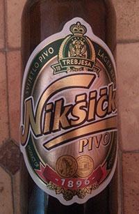 Niksicko Pivo by Trebjesa Brewery