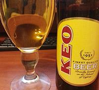 KEO Premium Beer by KEO