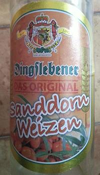 Sanddorn-Weizen by Dingslebener Privatbrauerei Metzler