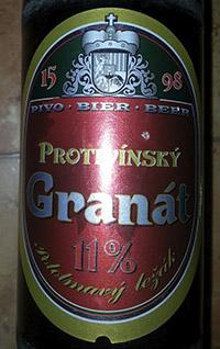 Protivinsky Granat by Pivovar Protivin