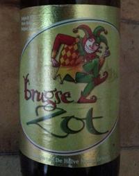 Brugse Zot Blond by Brouwerij De Halve Maan