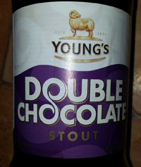Young's Double Chocolate Stout by Eagle Brewery