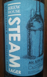 Brew House Steam Lager by Robinsons Brewery