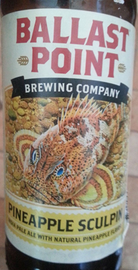 Sculpin IPA With Nugget Hops & Pineapple by Ballast Point
