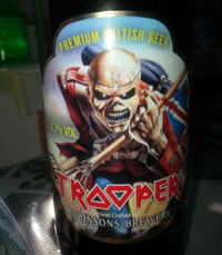 Trooper by Robinsons Brewery