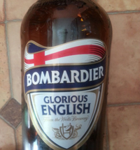Bombardier Amber Beer by Eagle Brewery
