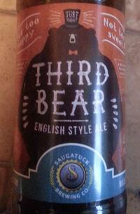 Third bear by Saugatuck Brewing Company