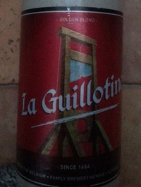 La Guillotine by Huyghe Brewery