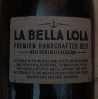 La Bella Lola by Barcelona Beer Company