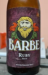 Barbe Ruby by Brouwerij Verhaeghe