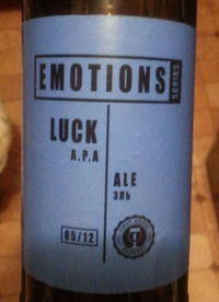 Luck A.P.A от First Dnipro Brewery