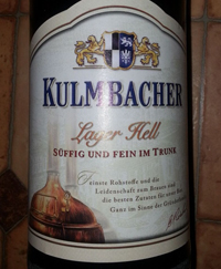 Kulmbaher Lager Hell
