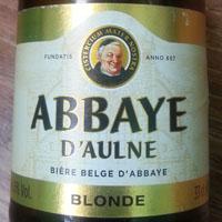 Abbaye D'aulne Blonde by Brasserie de l'Abbaye d'Aulne