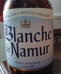 Blanche de Namur by Brasserie du Bocq