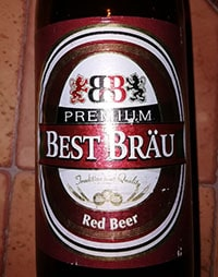 Best Brau Premium Red Beer by Birra Castello