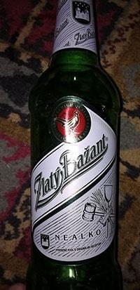 Zlaty Bazant Безалкогольное