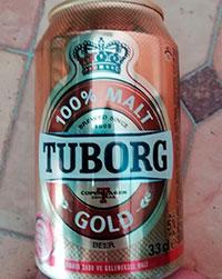 Tuborg Gold 100% Malt by Turk Tuborg
