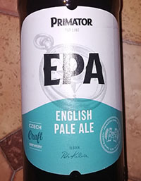 English Pale Ale (EPA) by Primator