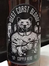 West Coast Blonde от Copper Head. Beer Workshop