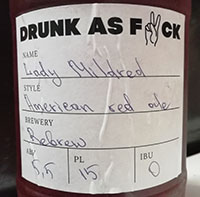 Lady Mildred от пивоварни Rebrew