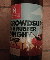 Crowdsurf In A Rubber Dinghy by Brouwerij The Musketeers