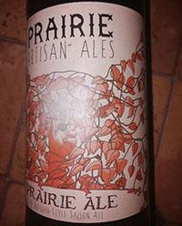 Prairie Ale by Prairie Artisan Ales