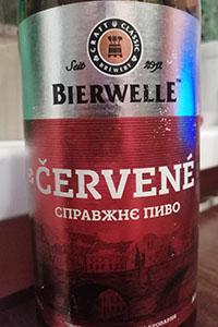Cervene от пивоварни Bierwelle
