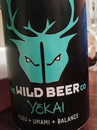 Yokai beer by The Wild Beer Co