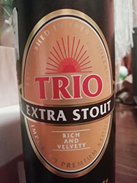 Trio Extra Stout by United Dutch Breweries