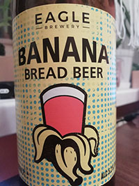 Banana bread beer by Eagle Brewery