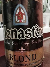 Monastere Biere Blonde by United Dutch Breweries