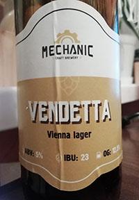 Vendetta beer от Mechanic Craft Brewery