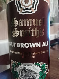 Nut Brown Ale by Samuel Smith