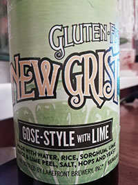 New Grist Gose With Lime