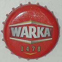 warka 1478 beer caps
