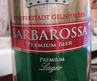 Barbarossa Premium Lager Beer