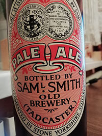 Pale Ale Beer Samuel Smith