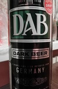 DAB Dark Beer Dortmunder Actien-Brauerei