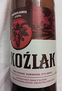 Browar Amber Kozlak Bock Beer