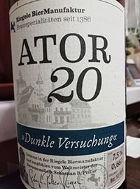Ator 20 by Brauhaus Riegele