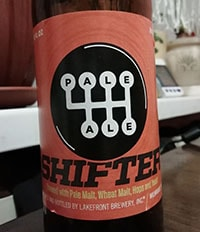 Shifter by Lakefront Brewery